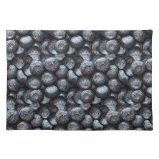 Niedliches Blaubeerfrucht-Muster Tischset