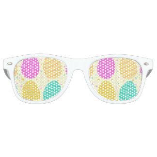 Niedliches buntes Ostereimuster Sonnenbrille