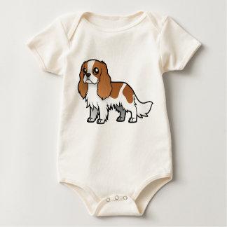 Niedliches Cartoon-Haustier Baby Strampler
