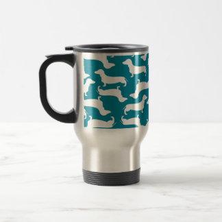 Niedliches Dackel-Muster-perfektes Geschenk für Reisebecher