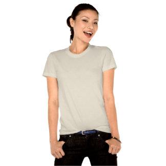 Niedliches Damenherz mustert smiley T Shirt
