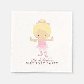 Niedliches der Geburtstags-Party des Serviette