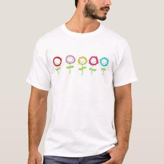 Niedliches die Blumen-T-Stück des Kindes T-Shirt