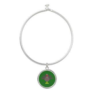 Niedliches die Weihnachtstürkei-Armband-Armband Armreif