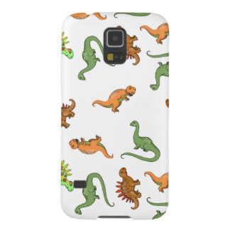 Niedliches Dinosaurier-Muster Galaxy S5 Cover