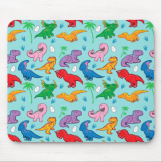 Niedliches Dinosaurier-Muster Mousepads