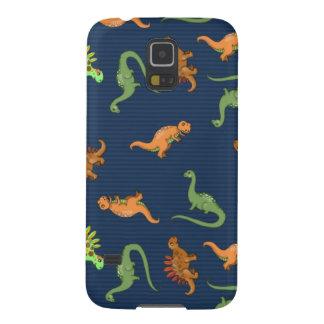 Niedliches Dinosaurier-Muster Samsung S5 Hülle
