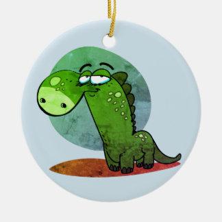 niedliches Dinosaurierkinderlustiger Cartoon Keramik Ornament