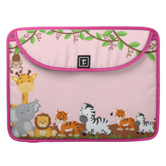 Niedliches Dschungel-Baby TierMacbook Pro MacBook Pro Sleeve