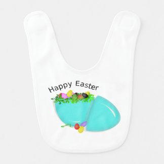 Niedliches Ei für fröhliche Ostern für Baby Lätzchen