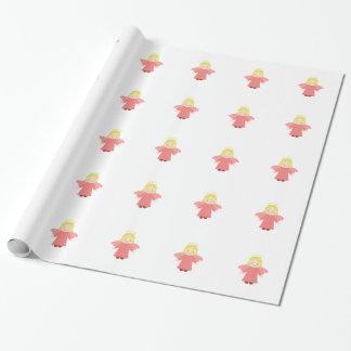 Niedliches Engels-Verpackungs-Papier Geschenkpapier