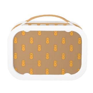 Niedliches Erdnuss-Muster Brotdose