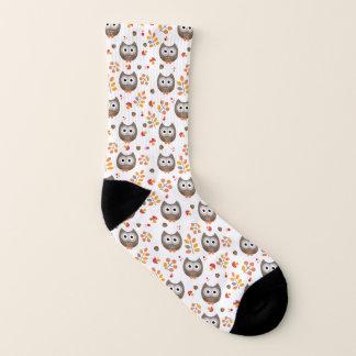 Niedliches Eulen-Muster Socken