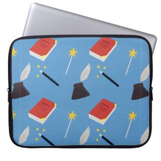 Niedliches feenhafte Geschichten-Muster Laptop Sleeve