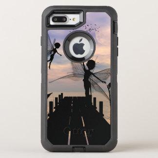 Niedliches feenhaftes Tanzen auf einer OtterBox Defender iPhone 8 Plus/7 Plus Hülle