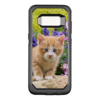 Niedliches flaumiges Ingwer-Baby-Katzen-Kätzchen OtterBox Commuter Samsung Galaxy S8 Hülle