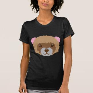 niedliches Frettchengesicht T-Shirt