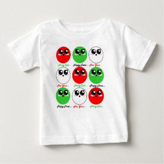 Niedliches fröhliches Feiertags-Shirt Kawaii Baby T-shirt