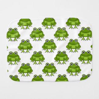 Niedliches Frosch-Muster Spucktuch