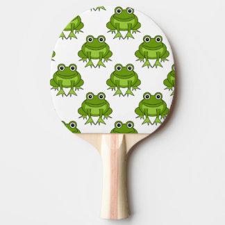Niedliches Frosch-Muster Tischtennis Schläger