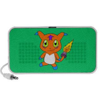 Niedliches Fuchsmonster Mini Lautsprecher