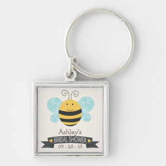 Niedliches gelbe u. schwarze Bienen-Brautparty Schlüsselbänder