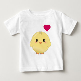 Niedliches gelbes Küken Baby T-shirt