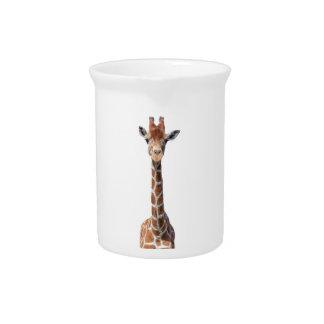 Niedliches Giraffengesicht Krug