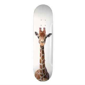 Niedliches Giraffengesicht Skate Board