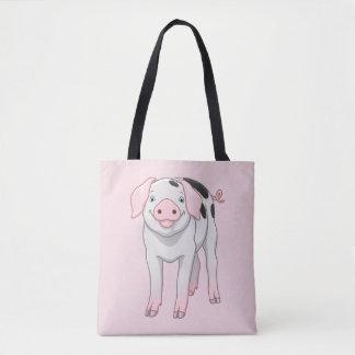 Niedliches Gloucestershire altes Stellen-Schwein Tasche