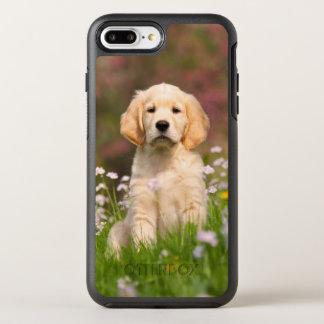 Niedliches goldener Retriever-Hundewelpen-Foto - OtterBox Symmetry iPhone 8 Plus/7 Plus Hülle