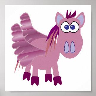 Niedliches Goofkins Pegasus Poster