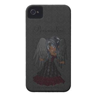 Niedliches gotisches Engels-BlackBerry-mutiges iPhone 4 Etuis