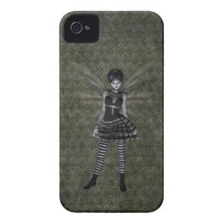 Niedliches gotisches feenhaftes BlackBerry mutig iPhone 4 Hüllen