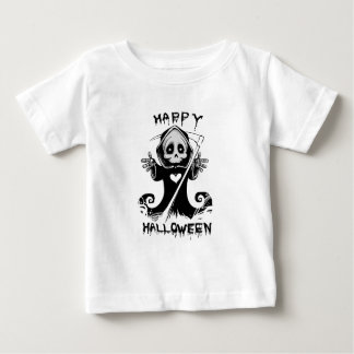Niedliches grimmiges baby t-shirt