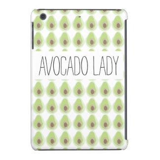 Niedliches grünes Avocado-Muster-Bio Vegetarier iPad Mini Retina Hüllen