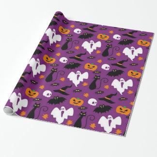 Niedliches Halloween-Muster Geschenkpapier