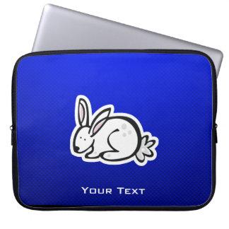 Niedliches Häschen; Blau Computer Schutzhüllen