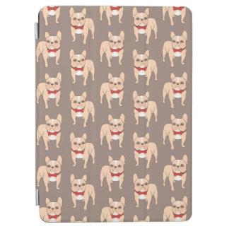 Niedliches helles Kitz französische Bulldogge mit iPad Air Hülle