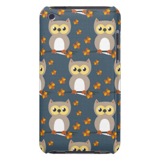 Niedliches Herbst-Eulen-Muster iPod Touch Case-Mate Hülle