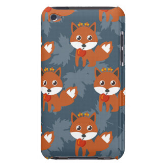 Niedliches Herbstfox-Muster Barely There iPod Case
