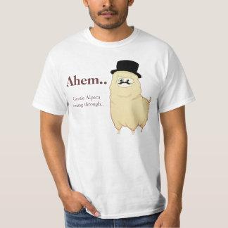 Niedliches Herr-Alpaka T-Shirt