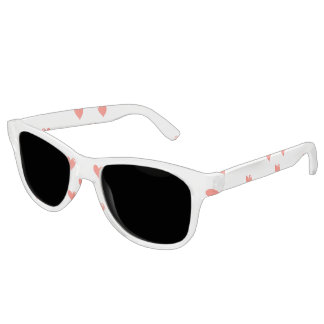 Niedliches Herz-Motiv-Muster Brille