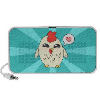 Niedliches Huhn Reise Lautsprecher