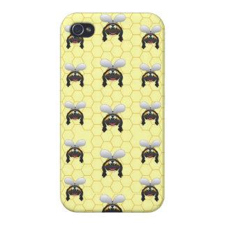 Niedliches Hummel-Bienen-Muster Etui Fürs iPhone 4