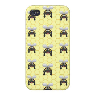 Niedliches Hummel-Bienen-Muster iPhone 4/4S Hülle
