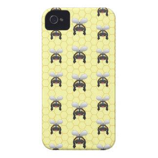 Niedliches Hummel-Bienen-Muster iPhone 4 Hülle