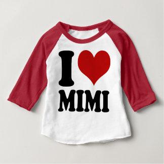 Niedliches i-Herz Mimi Baby T-shirt