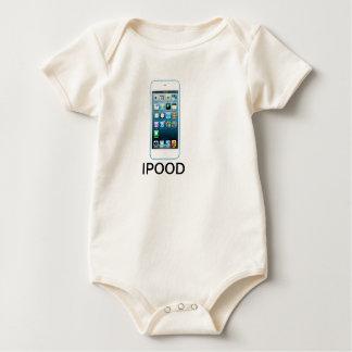 Niedliches Ipood Säuglings-Kleid Baby Strampler
