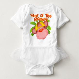 Niedliches Jahr des Affe-Babys Baby Strampler